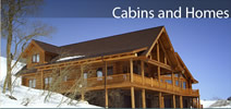 slopeside cabins